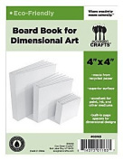 Eco Green Crafts 10cm Dimensional Board Book