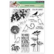 Penny Black Decorative Rubber Stamps, Tweet Tweet