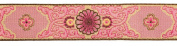 Dove of the East Shanghai Brocade Ribbon for Scrapbooking, 1-Yard, Rose Pink