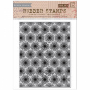Basic Grey RSVP Cling Stamps By Hero Arts-Bursts Background