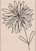 Hero Arts Woodblock Stamp, Pom Pom Flower