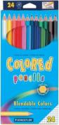 Coloured Pencils, 24/Pkg.