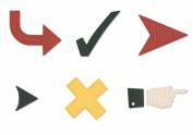 QuicKutz Die Set-Checkmark