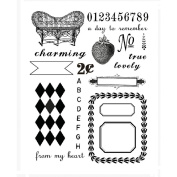 7 Gipsies Trousseau Clear Stamps 5.5'X7.5'
