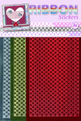 JEJE Produkt 3-Pack Ribbon Stickers, Hearth, Mirror Colour