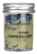 Stampendous Frantage Crushed Glass Glitter for Arts and Crafts, Oceanic