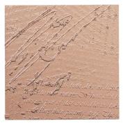 Spellbinders MT1-011 Poetry Texture Plate for Scrapbooking