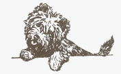 Dog Rubber Stamp - Cairn Terrier-2E (Size