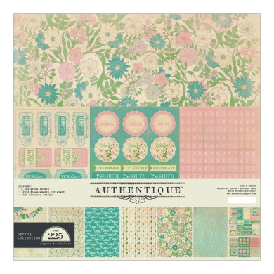 Authentique Seasons: Spring - Spring Collection Kit