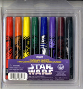 8 Washable Markers (Star Wars)