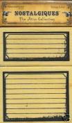 EK Success Mounted Stamp VINTAGE LABELS 2-Stamp Set