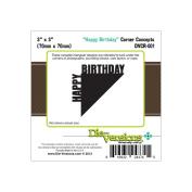 Die-Versions Shapes - Happy Birthday