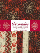 Decorative Paper Value Pack- Tomato Red & Cocoa Brown