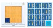 Scrappy Cat Playful Fun Serif Alphabet Stamp Set