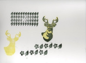 Ed Roth Clear Stamps 10cm x 20cm Sheet-Houndstooth Patterns