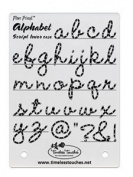 Timeless Touches Fibre Friend - Script Alphabet - Lowercase