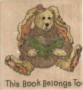 Daphne Book Plate Boyds Collection Wood Mounted Rubber Stamp
