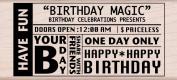 Hero Arts Magic Birthday Woodblock Decorative Stamp