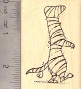Ferret Mummy (Halloween) Rubber Stamp