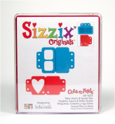 Stamp Tabs Heart Sizzix Die - Large