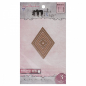 Spellbinders MD1-014 Media Mixage Diamonds One Die Template
