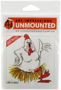 Art Impressions Birdie Rubber Stamp