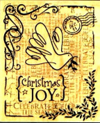 HERO ARTS COLLAGE HOLIDAY CHRISTMAS RUBBER STAMPS