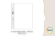 Project Life Page Protectors - Vertical 13cm x 18cm 12/Pkg-