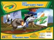 Bulk Buy. Giant Fingerpaint Paper Pad 41cm X12-25 Sheets/Pkg
