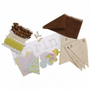 Dilly Dally Canvas Banner Kit-Spring