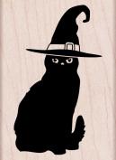 Hero Arts Halloween Cat Woodblock Stamp