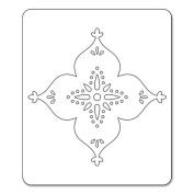Sizzix Sizzlits Die 11cm x 5.7cm -Arabesque Flower