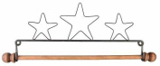 Ackfeld 19cm Dowel Fabric Holder, Three Stars
