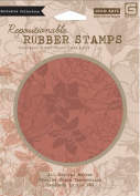 Hero Arts Rubber Stamps Large Flower Pattern Cling Stamps