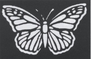 Costumes For All Occasions Fp59 Stencil Butterfly Brass