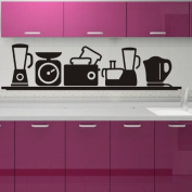 Cute Kitchen Vinyl Art Wall Sticker Decorative Home Decals PVC Decor S0029