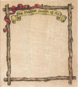 Happiest Season Frame Holly Pond Hill Susan Wheeler Wood Mounted Rubber Stamp