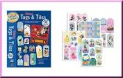 Paper Pizazz 277 Disney Tags & Tiles Cut-Outs for Scrapbooks, Cards and More! Hot Off The Press 3120