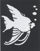 Costumes For All Occasions Fp40 Stencil Tropical Fish