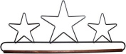 Ackfeld 41cm Dowel Fabric Holder , Three Stars