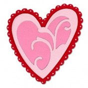 Sizzix Originals Die - Heart, Ornamental