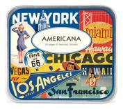 Cavallini Decorative Stickers Americana, Assorted