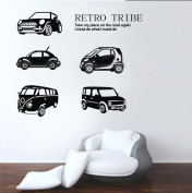 60*45CM The cars coming Vinyl Art Wall Sticker Baby Children Kids Room Decals PVC Nursery Boys Decor B0383