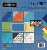 Generation Z 12x12 Tablet by Little Yellow Bicycle