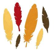 We R Memory Keepers We R Memory Keepers 10cm by 10cm Feathers Die