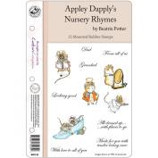 Beatrix Potter EZMount Stamp Set - 14cm x 22cm -Apply Dapply's Nursery Rhymes