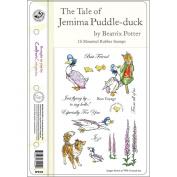 Beatrix Potter EZMount Stamp Set - 14cm x 22cm -The Tale Of Jemima Puddle-Duck