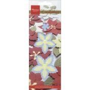 Ecstasy Crafts Creatables Dies - Poinsettia