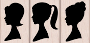 Hero Arts Woodblock Stamp Set Three Silhouettes
