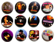 Vasco Rossi Awesome Quality Lot of 12 New Pins Pinbacks Buttons Badge fan 3.2cm